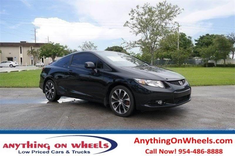 2013 Honda Civic for sale at Anything On Wheels in Oakland Park FL