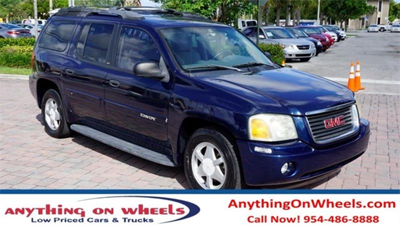 2003 GMC Envoy XL for sale at Anything On Wheels in Oakland Park FL