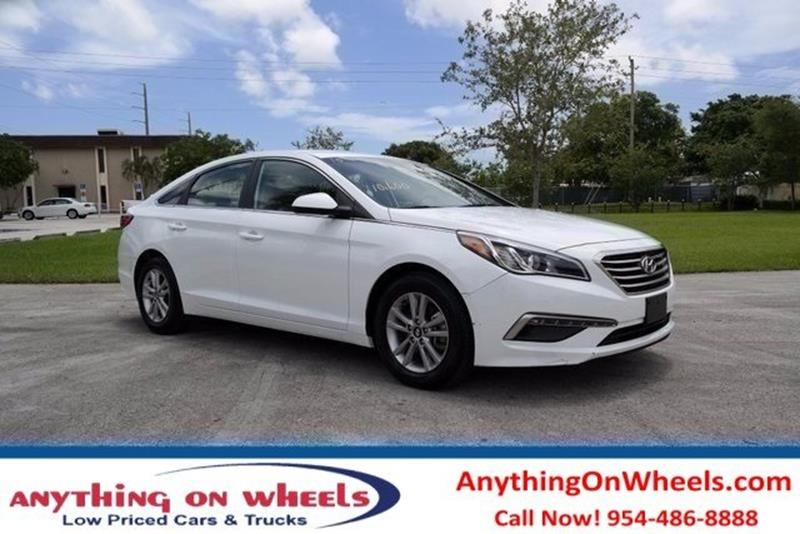 2017 Hyundai Elantra for sale at Anything On Wheels in Oakland Park FL