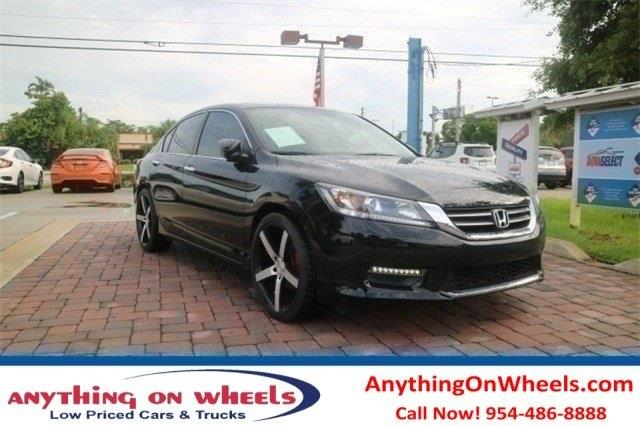 2015 Honda Accord for sale at Anything On Wheels in Oakland Park FL