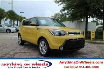 2016 Kia Soul for sale at Anything On Wheels in Oakland Park FL