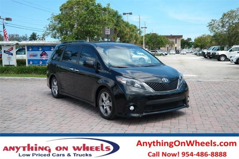 2013 Toyota Sienna for sale at Anything On Wheels in Oakland Park FL