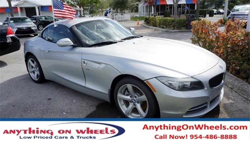2012 BMW Z4 for sale at Anything On Wheels in Oakland Park FL