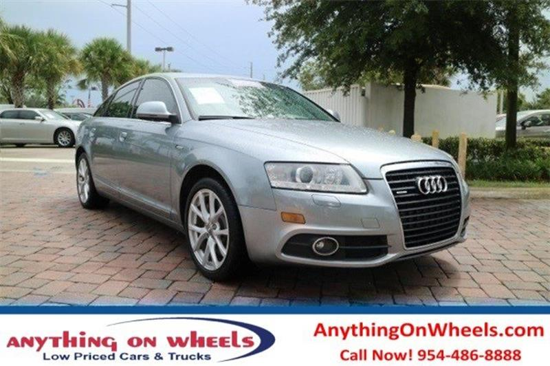 2011 Audi A6 for sale at Anything On Wheels in Oakland Park FL