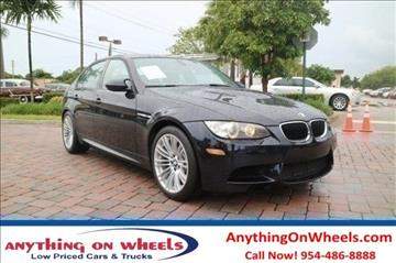 2011 BMW M3 for sale at Anything On Wheels in Oakland Park FL