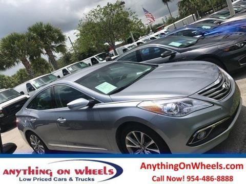 2016 Hyundai Azera for sale in Oakland Park, FL