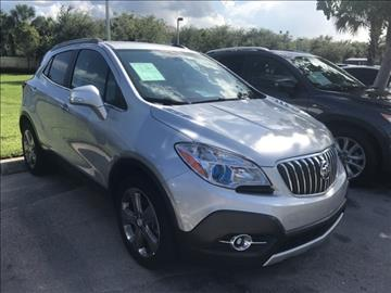 2014 Buick Encore for sale at Anything On Wheels in Oakland Park FL