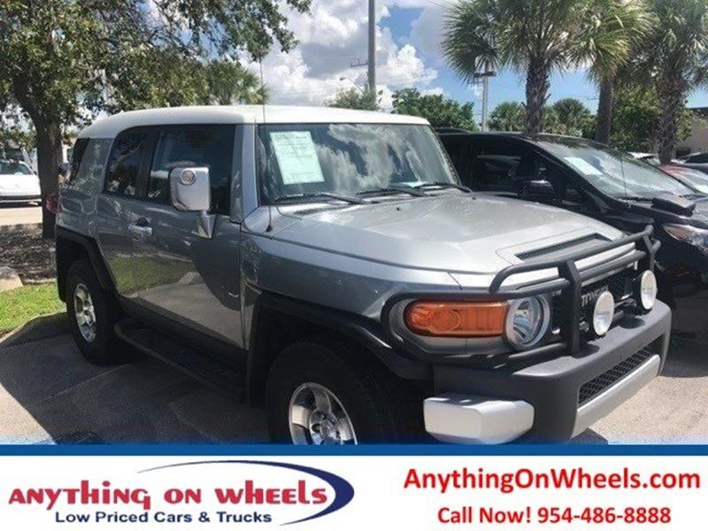 2009 Toyota FJ Cruiser for sale at Anything On Wheels in Oakland Park FL