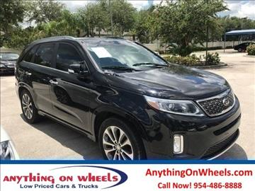 2014 Kia Sorento for sale at Anything On Wheels in Oakland Park FL