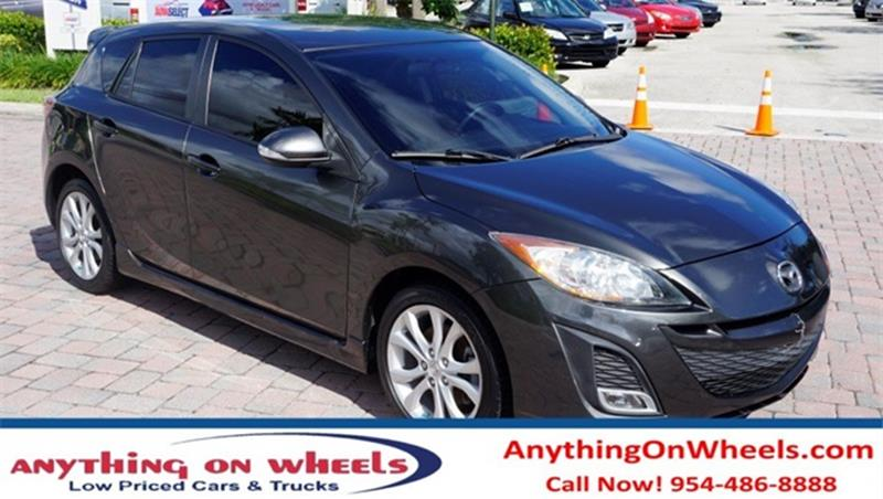 2010 Mazda MAZDA3 for sale at Anything On Wheels in Oakland Park FL