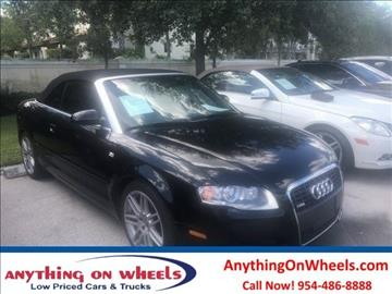 2009 Audi A4 for sale at Anything On Wheels in Oakland Park FL