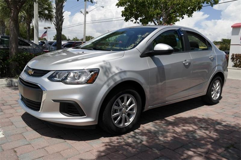 2017 Chevrolet Sonic for sale at Anything On Wheels in Oakland Park FL