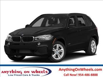 2014 BMW X5 for sale at Anything On Wheels in Oakland Park FL