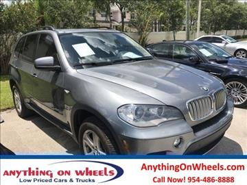 2012 BMW X5 for sale at Anything On Wheels in Oakland Park FL