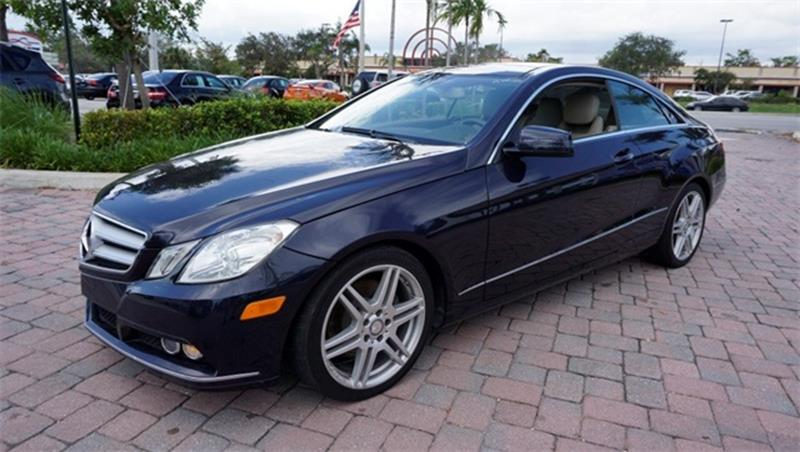 2011 Mercedes-Benz E-Class for sale at Anything On Wheels in Oakland Park FL