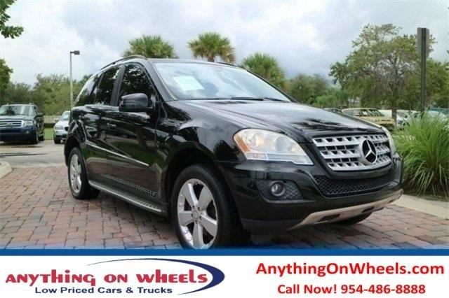 2011 Mercedes-Benz M-Class for sale at Anything On Wheels in Oakland Park FL