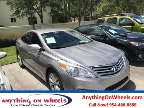 2014 Hyundai Azera for sale at Anything On Wheels in Oakland Park FL