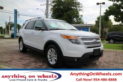 2014 Ford Explorer for sale at Anything On Wheels in Oakland Park FL