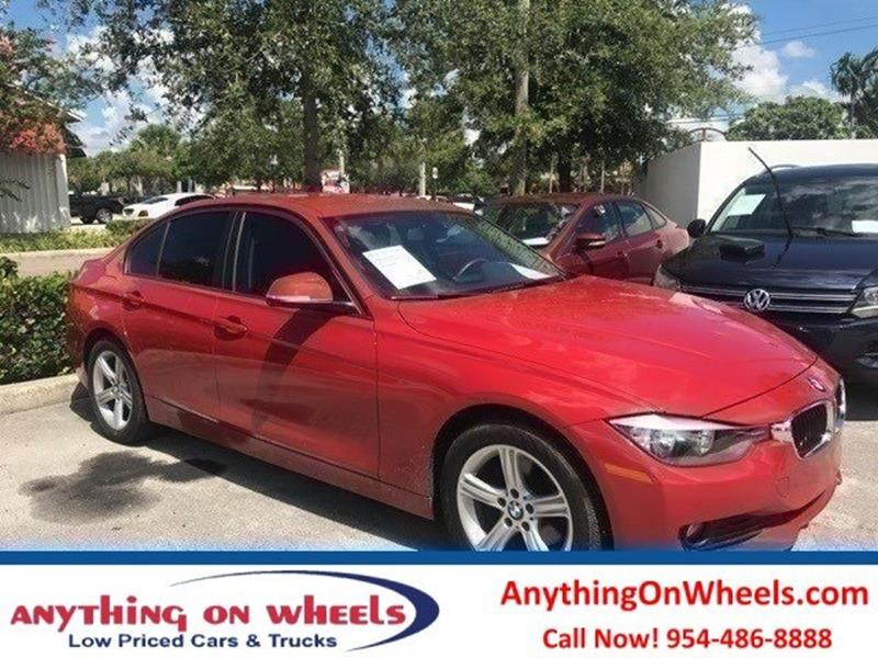 2014 BMW 3 Series for sale at Anything On Wheels in Oakland Park FL