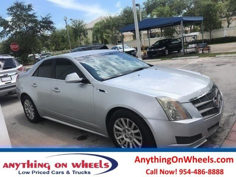 2011 Cadillac CTS for sale at Anything On Wheels in Oakland Park FL