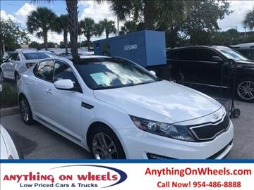 2013 Kia Optima for sale at Anything On Wheels in Oakland Park FL