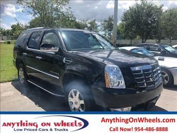 2008 Cadillac Escalade for sale at Anything On Wheels in Oakland Park FL
