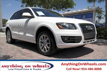 2011 Audi Q5 for sale at Anything On Wheels in Oakland Park FL