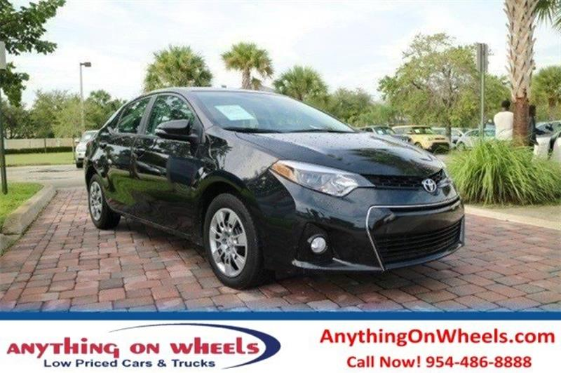 2016 Toyota Corolla for sale at Anything On Wheels in Oakland Park FL