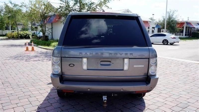 2007 Land Rover Range Rover for sale at Anything On Wheels in Oakland Park FL