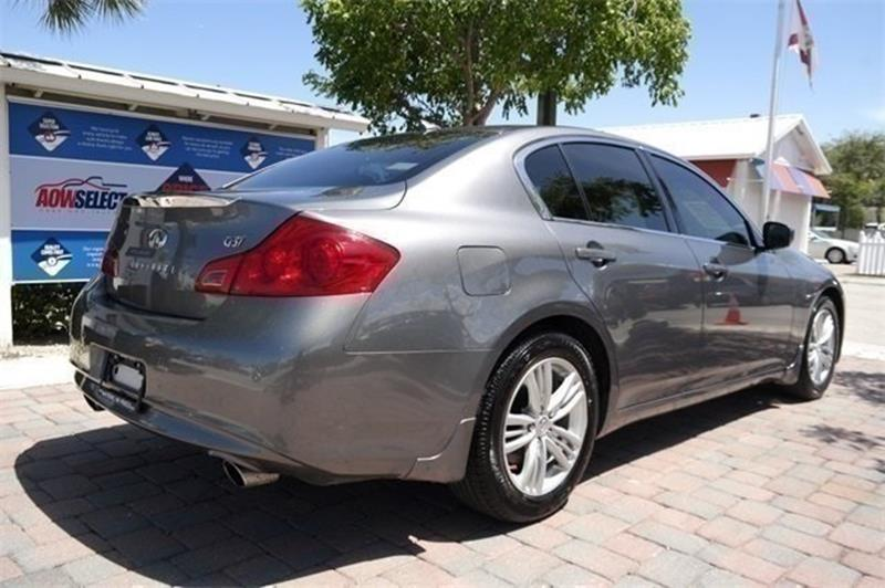 2012 Infiniti G37 Sedan for sale at Anything On Wheels in Oakland Park FL