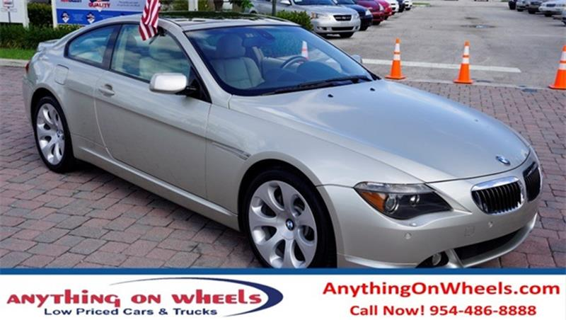 BMW Series Ci In Oakland Park FL Anything On Wheels - Bmw 645ci wheels
