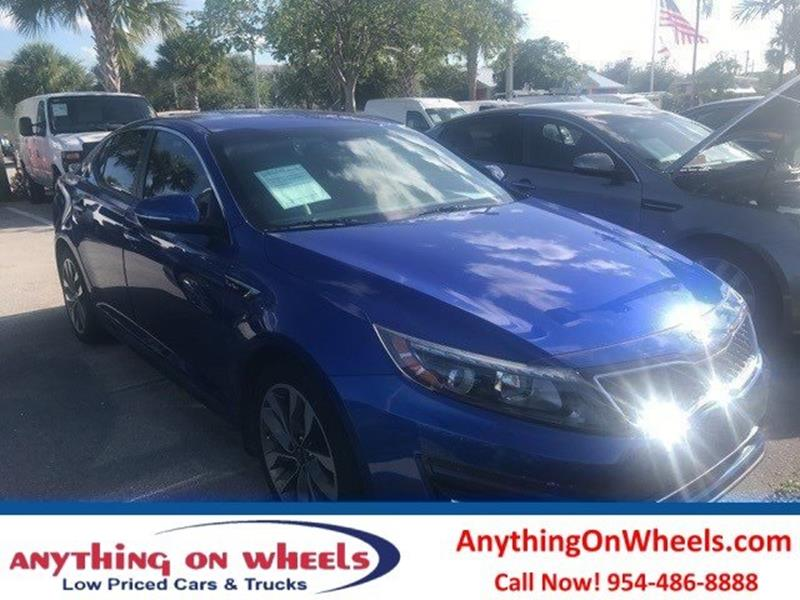 2014 Kia Optima for sale at Anything On Wheels in Oakland Park FL
