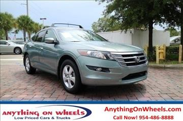2012 Honda Crosstour for sale at Anything On Wheels in Oakland Park FL