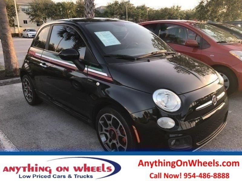 2012 FIAT 500 for sale at Anything On Wheels in Oakland Park FL
