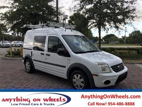 2011 Ford Transit Connect for sale at Anything On Wheels in Oakland Park FL