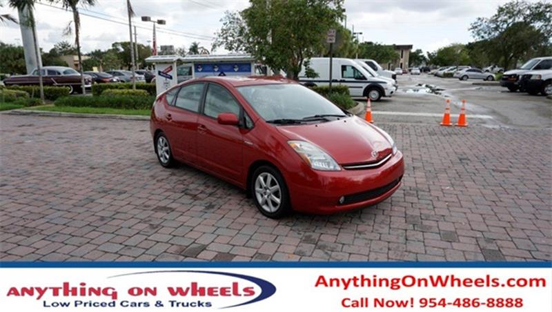 2008 Toyota Prius for sale at Anything On Wheels in Oakland Park FL