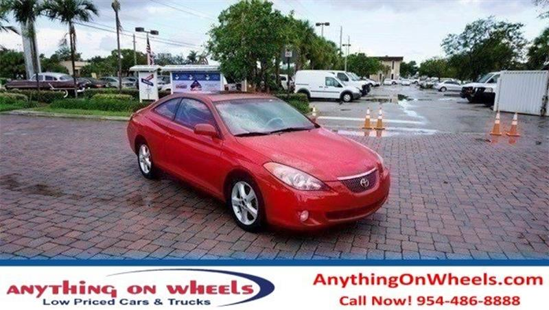 2006 Toyota Camry Solara for sale at Anything On Wheels in Oakland Park FL