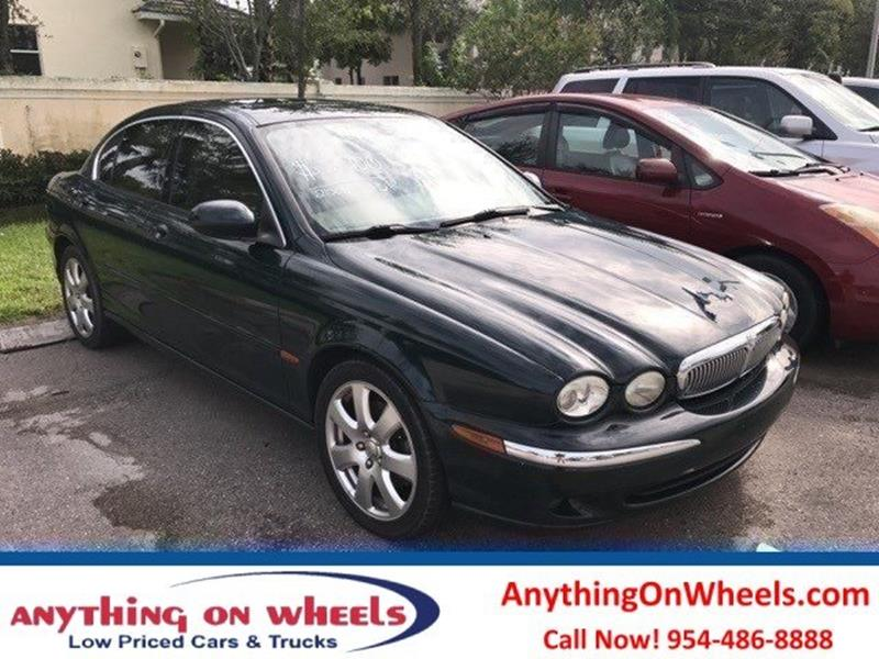 2004 Jaguar X-Type for sale at Anything On Wheels in Oakland Park FL