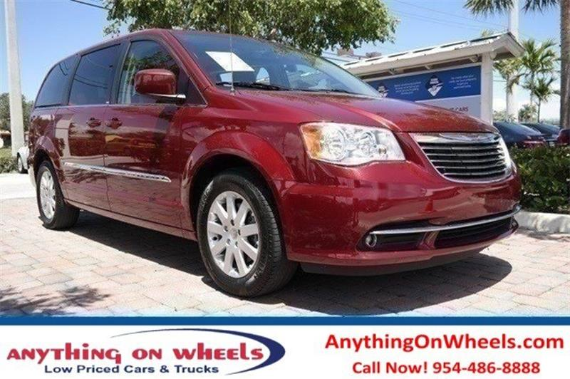 2014 Chrysler Town and Country for sale at Anything On Wheels in Oakland Park FL