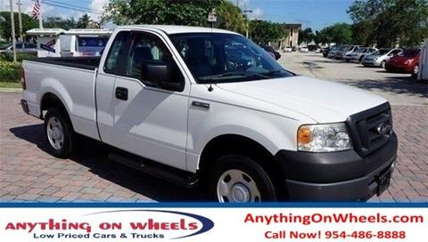 2007 Ford F-150 for sale at Anything On Wheels in Oakland Park FL