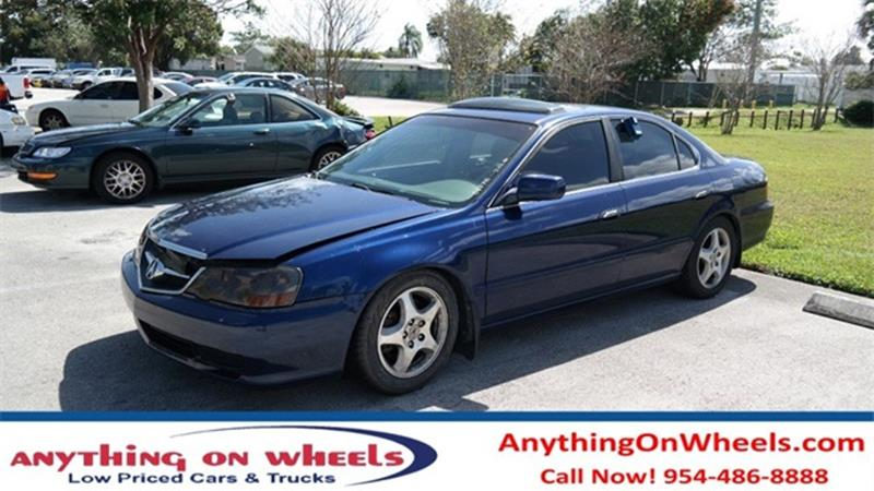 Acura TL In Oakland Park FL Anything On Wheels - 2003 acura tl for sale