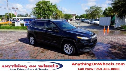 2014 Jeep Cherokee for sale in Oakland Park, FL