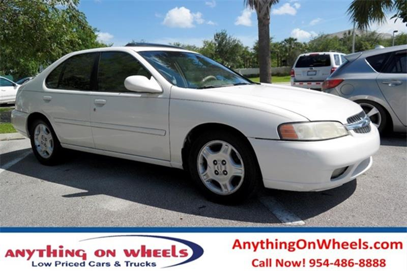 2000 Nissan Altima For Sale At Anything On Wheels In Oakland Park FL