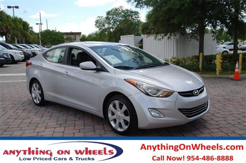 2012 Hyundai Elantra For Sale At Anything On Wheels In Oakland Park FL