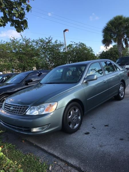 2003 Toyota Avalon For Sale At Anything On Wheels In Oakland Park FL