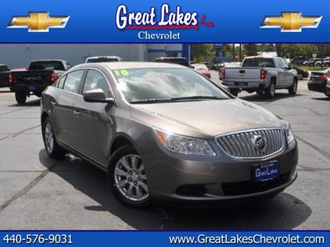 2010 Buick LaCrosse for sale in Jefferson, OH
