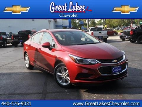2017 Chevrolet Cruze for sale in Jefferson, OH