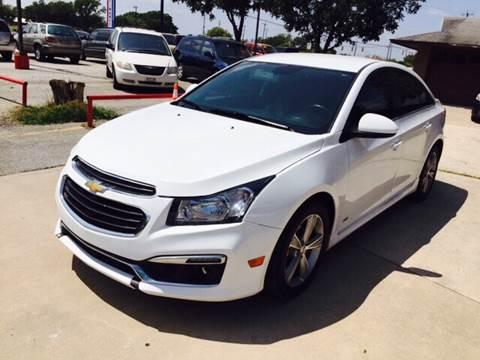 2015 Chevrolet Cruze for sale at John 3:16 Motors in San Antonio TX
