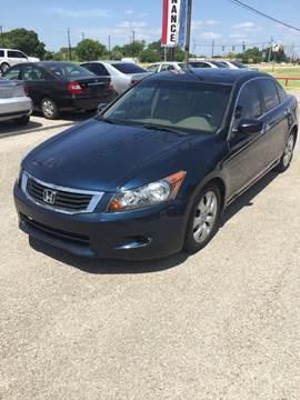 2008 Honda Accord for sale at John 3:16 Motors in San Antonio TX
