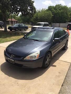 2006 Honda Accord for sale at John 3:16 Motors in San Antonio TX